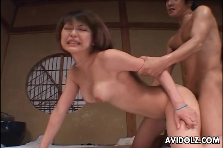 Japanese Milf Creampie Swallow