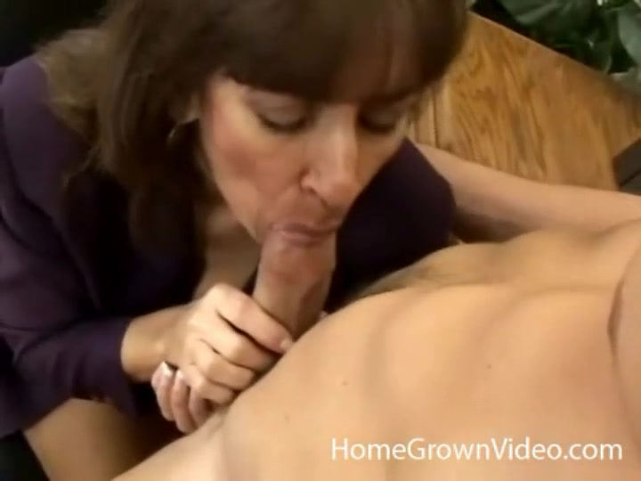 Apologise, bent desk milf over not give minute?