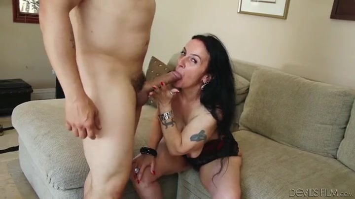 porno old lady show your blowjob