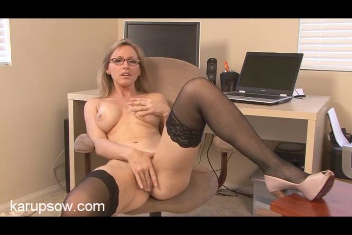 glasses hot moms stockings