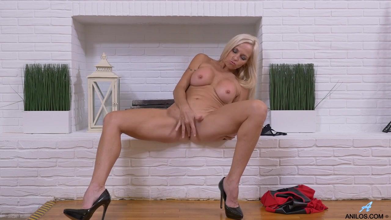 Hot Blonde Masturbating Orgasm