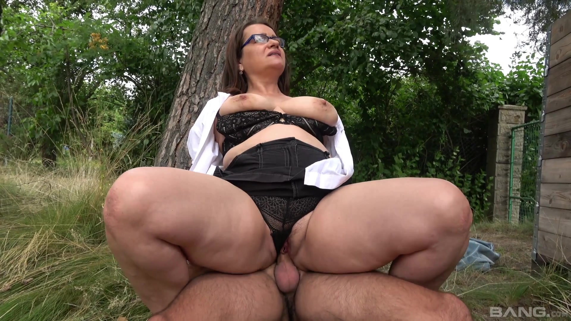 Big Ass Teen Riding Dildo