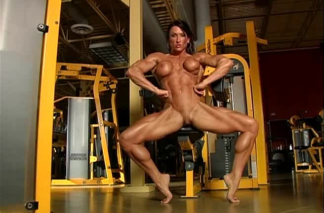Nude Women At The Gym