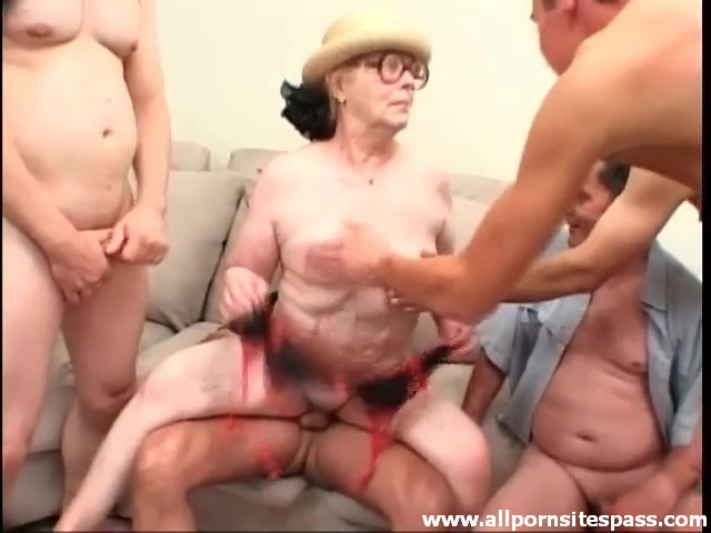 Piss Old Young Gangbang